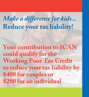 ICAN Chandler Tax Break Donation Nonprofit